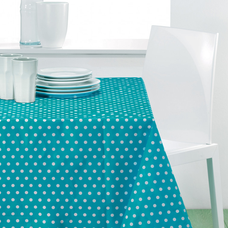 Nappe Rectangulaire Trendy Turquoise