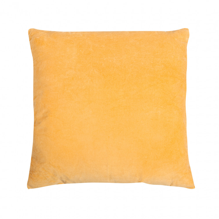 Coussin Velours Curry 60 x 60