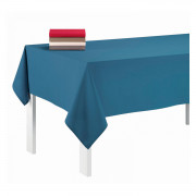 Nappe rectangulaire uni Pes Bleu denim 140 x 240
