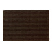 Set de table Stripes chocolat