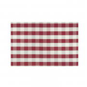 Set Rectangulaire Oscar Rouge 30 X 45