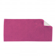 TAPIS DE BAIN SHAGGY DOUBLE VASQUE FUCHSIA