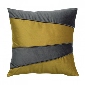 Coussin patch Eveal Gold 40 x 40
