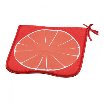 Galette de chaise Frutti Orange 38 x 38 x 2 cm