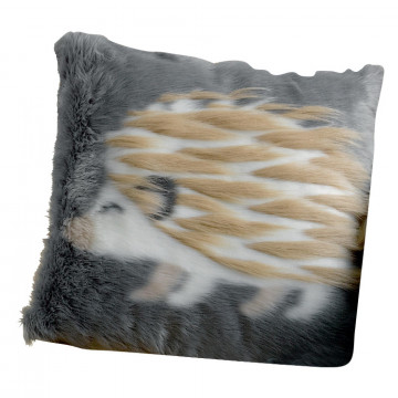 Coussin Brushy Hérisson Ombre 40 x 40