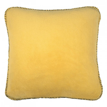 Coussin Melly Moutarde 45 x 45