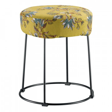 Housse de tabouret Porto Curry 0 x 36 x 10